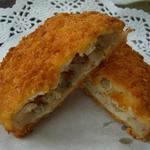 肉の斎藤 味斎 - 米沢牛入り紅大豆コロッケです。惣菜として販売しています。