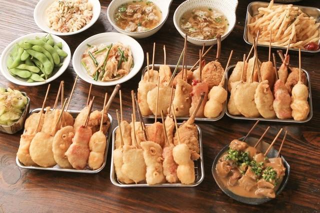 串かつ でんがな 大森東口店の料理の写真