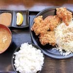 唐揚げの大善 - 料理写真:唐揚げ定食500円税別