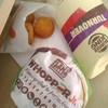 バーガーキング - 料理写真:【2019/7】ワッパージュニアとアップルパイとチーズバイツ