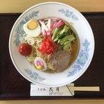 花月そば処 - 冷し中華(税込800円)