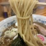 綾瀬 大勝軒 - 【2019.7.18】加水高めの中太麺。