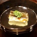 味享 - 岐阜県長良川の鮎と枝豆豆腐のお椀