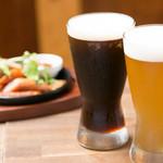 カラアゲとクラフトビール タンサンバルポゴ - ビール2種