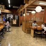 さかな屋すし 魚健 - 店内の雰囲気