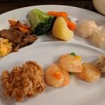 広東料理セレブリティクラブ セラリ迎賓館 - [料理] おかずのプレート 全景♪W