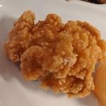 広東料理セレブリティクラブ セラリ迎賓館 - [料理] 鶏 唐揚げ アップ♪w