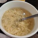広東料理セレブリティクラブ セラリ迎賓館 - [料理] 卵スープ アップ♪w ①