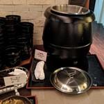 広東料理セレブリティクラブ セラリ迎賓館 - [料理]中華バイキング・中華粥コーナー