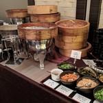 広東料理セレブリティクラブ セラリ迎賓館 - [料理] 中華バイキング・点心 (蒸し料理 & 中華粥 トッピング)
