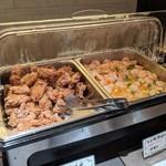 広東料理セレブリティクラブ セラリ迎賓館 - [料理] 中華バイキング・鶏の唐揚げ & えび塩炒め