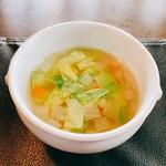 K.Cダイニング - 優しい味の野菜スープ