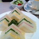 MMCオーガニックカフェ - サンドウィッチ