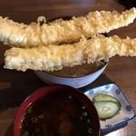 山車蔵 - 料理写真:穴子天丼 1700円