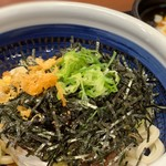 丸亀製麺 - 旨辛肉つけうどん
