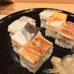 吉野鯗 - 吉野鯗(よしのすし)(大阪府大阪市中央区淡路町)箱寿司と吉野巻