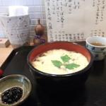 蕎麦処 なが田 - 玉子とじそば¥750