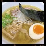 Soup - 地鶏だし淡麗塩Soup 650円