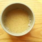 マルシ - セットの豆乳スープ