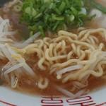 紫川ラーメン - 麺アップ