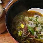 焼肉 ホルモン しむら - テールスープ ハーフ