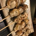 軍鶏と旨い酒 らっき - 串焼きもあります
