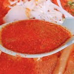 山岡家山形西田店 - スープ