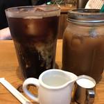nori蔵 - 普通のアイスコーヒー、デカアイスコーヒー