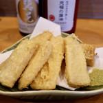 ROKU KANDA - とうもろこしの天ぷら