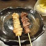 串姫煮太郎 - 鶏皮&砂肝(2019/6/25)