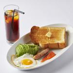 well - Toast Plate-¥880-