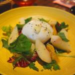 Libre - 手作りモッツァレラチーズと桃のアールグレイマリネ。