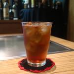 鉄板焼きaja彩 - ウーロン茶