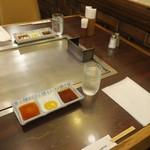 磐梯 - 料理写真:テーブル席の様子。