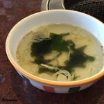短角亭 - ワカメスープ
