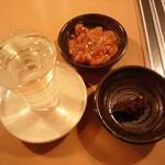 だんだんどうも - 日本酒、塩辛、ほろほろ漬