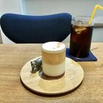 112743399 - 桃のヴェリーヌ&水出しアイスコーヒー