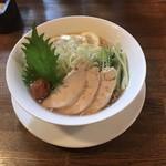 チャイニーズレストラン ファン - 料理写真:さっぱり冷やし梅しおラーメン