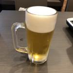 しゃぶ葉  - ドリンク写真:2019年7月28日  ビール