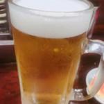 とり庄 - 生ビール