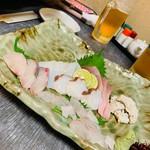 櫻バー - 料理写真:お刺身盛り合わせ