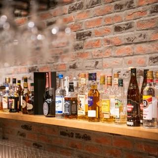 好みの一杯がきっと見つかる◎豊富なアルコールメニューにも注目