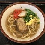 Domburinomiseshiki - ソーキそば(小)@500円