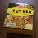 韓国広場 - 三和の「松の実、くるみ、はと麦茶」