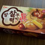 韓国広場 - 餅クッキー栗