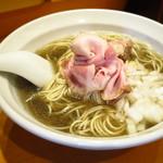 木更津 丿貫 - 煮干蕎麦~長崎県産片口鰯~ 800円