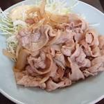 中華料理 まさき亭 - 焼肉定食