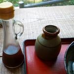 翡翠館 てんぐの蔵 - ポン酢