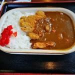 えぞ八 - 料理写真:カツカレー 750円
