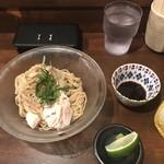 麺道はなもこし - 料理写真:冷やし茗荷蕎麦600円!